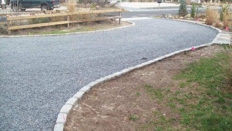 Pebble Stone Crushed Stone Gravel Driveway Contractor